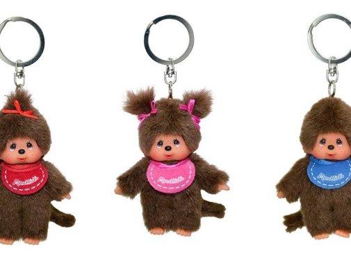 Monchhichi Keychain Plush Doll