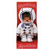 Monchhichi Plush Doll Boy Astronaut