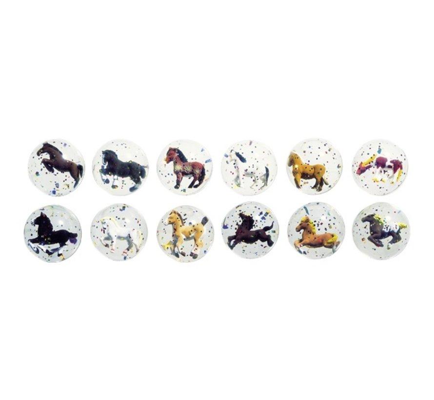 Stuiterbal 3D Paarden