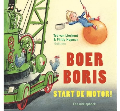 Gottmer Boer Boris, Start de Motor! (uitklapboek)