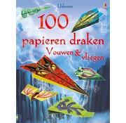 Uitgeverij Usborne Vouwen & vliegen 100 papieren draken
