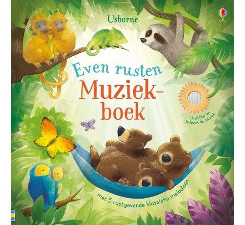 Uitgeverij Usborne Even rusten Muziekboek