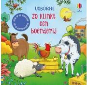 Uitgeverij Usborne Zo klinkt een boerderij