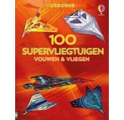 Uitgeverij Usborne Vouwen & vliegen 100 supervliegtuigen