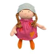 sigikid Soft Doll With Dress Pink