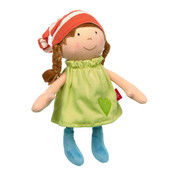 sigikid Soft Doll With Dress Green