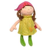 sigikid Soft Doll With Dress Yellow