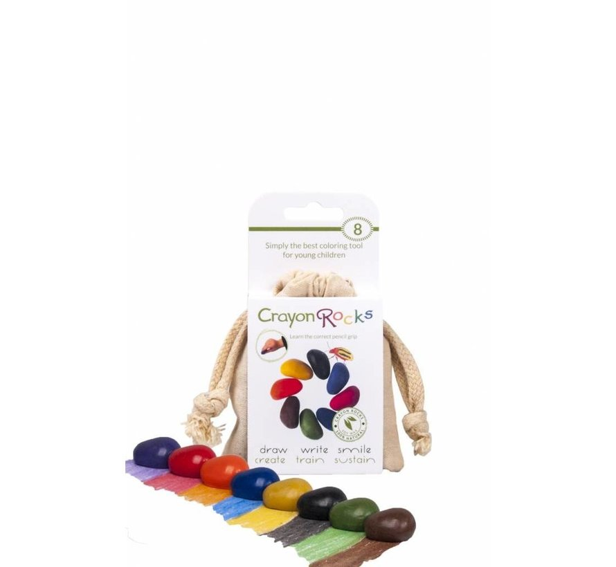 8 Colors in a Muslin Bag