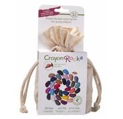 Crayon Rocks Krijtjes van Sojawas in Katoenen Zakje 32-delig