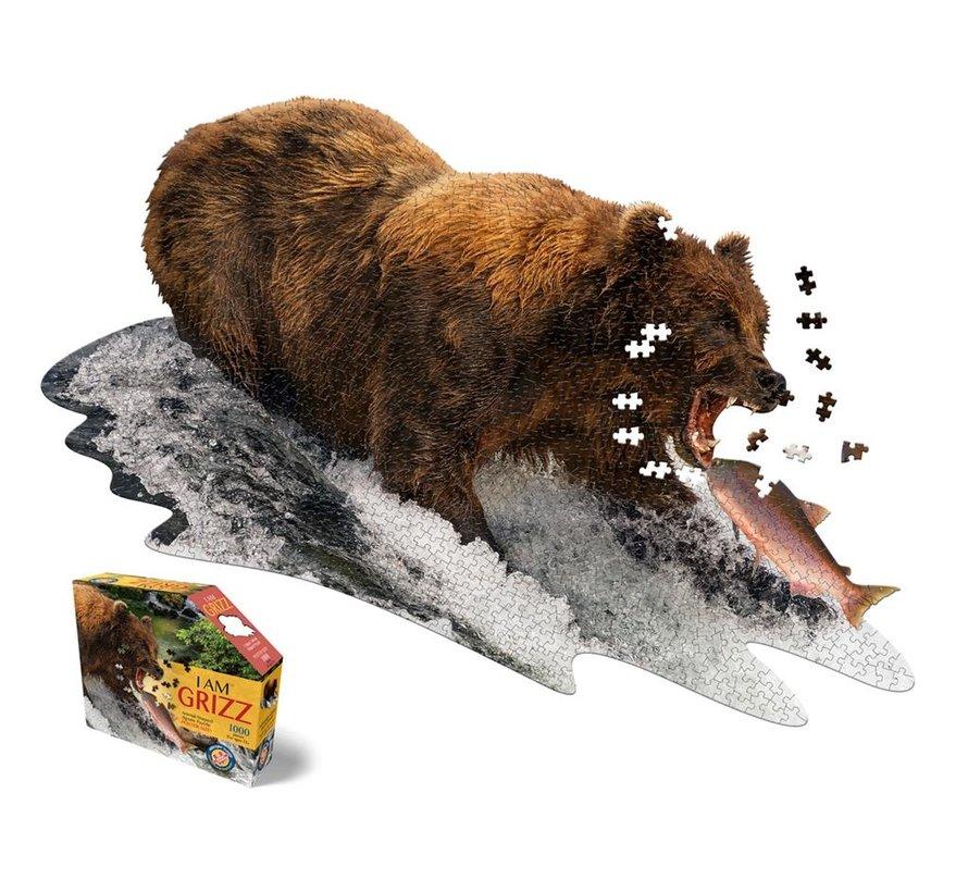 Puzzle: I AM Grizz 1000 pcs