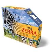 Madd Capp Puzzle: I AM Zebra 1000 pcs