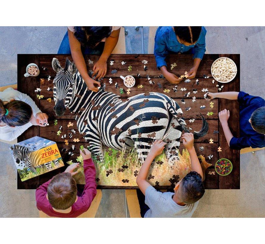 Puzzle: I AM Zebra 1000 pcs