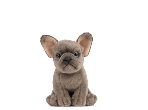 Living Nature Knuffel Hond Franse Bulldog Puppy 16 cm