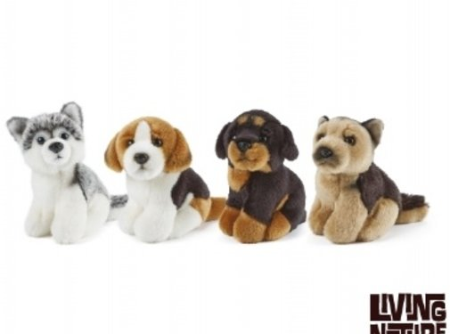 Living Nature Stuffed Animal Dog Small
