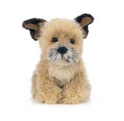 Living Nature Knuffel Hond Border Terrier 20 cm