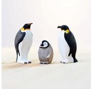 bumbu toys Emperor Penguins Set 3-pcs
