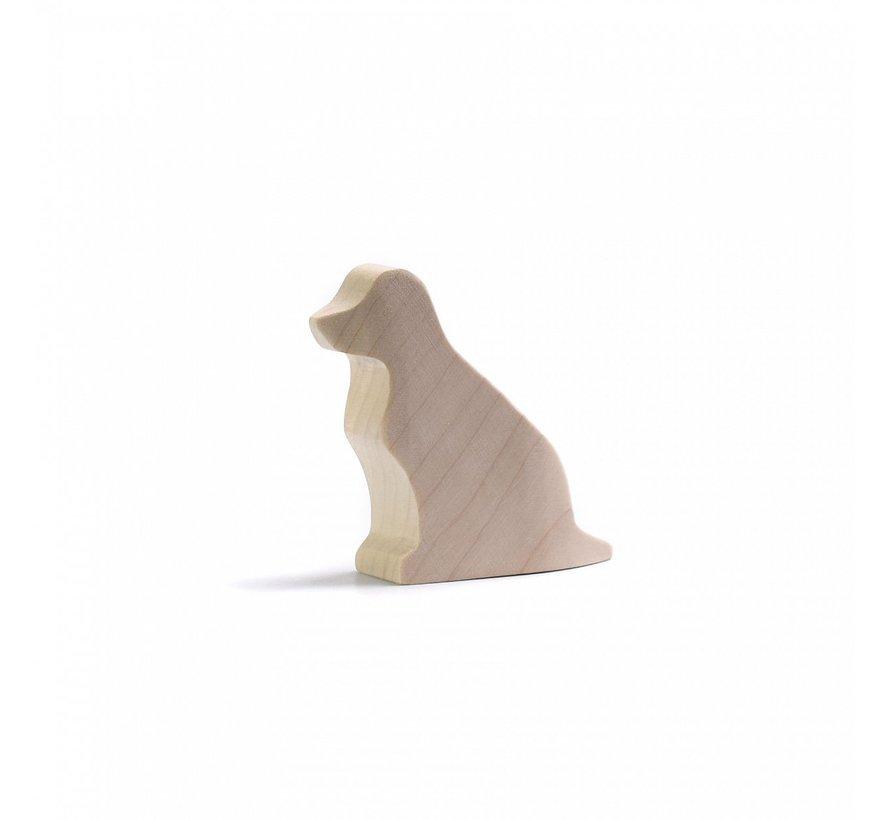 Hond Zittend Naturel