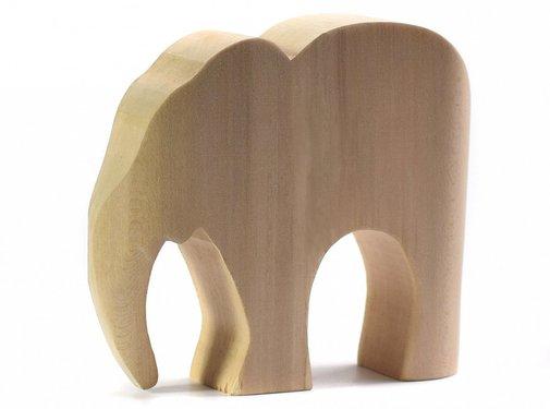 bumbu toys Elephant Natural