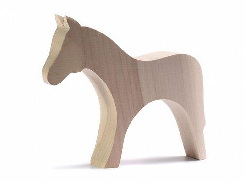 bumbu toys Paard Naturel