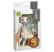 Sophie de Giraf Bijtspeeltje en Sleutelhanger Save the Giraffes Set