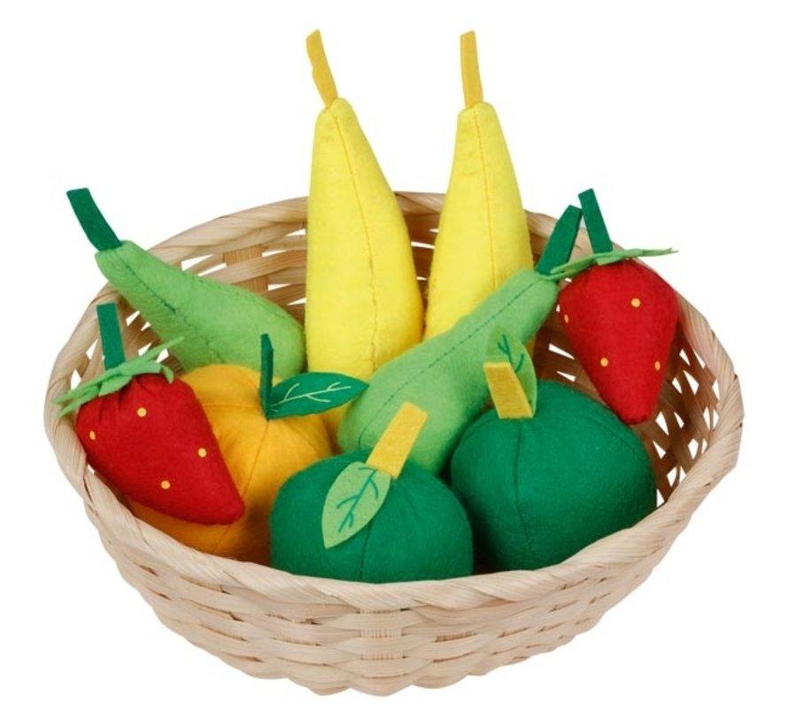 Fruitmand met Fruit