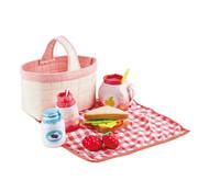 Hape Picknickset Toddler Picnic Basket