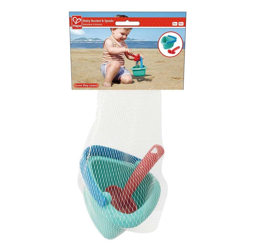 Strandspeelset Baby Emmer en Schepje