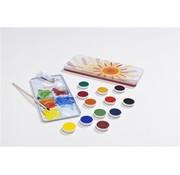 Stockmar Plakkaatverf Blik Set 12 kleuren