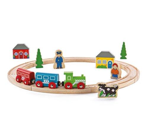 Bigjigs Houten Trein Set My First Train