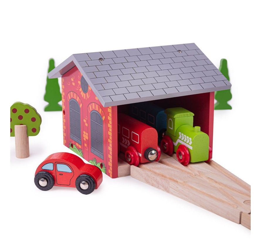Double Engine Shed