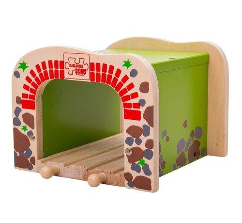 Bigjigs Dubbele Tunnel