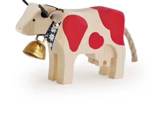 Trauffer Cow Maxi Standing Red