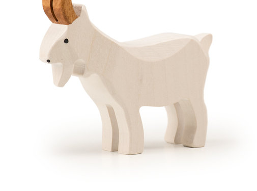 Trauffer Goat White Standing