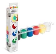 Primo Finger Paint  6 Colors 25 ml