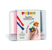 Primo Kneedklei 10 kleuren in opbergdoos