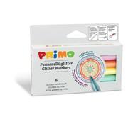 Primo Viltstiften Glitter Dun ø2 mm Set 6-delig in doos