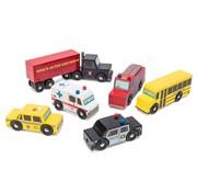 Le Toy Van New York Car Set Hout