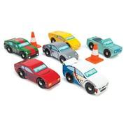 Le Toy Van Montecarlo Sports Cars 6 Auto's