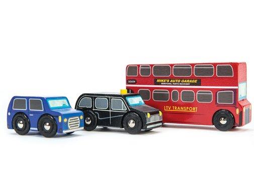 Le Toy Van Little London Vehicle Set Hout