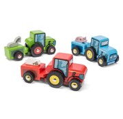 Le Toy Van Tractor Trails Wood