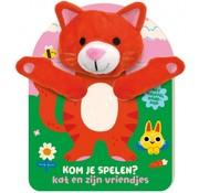 Image Books Handpopboek Kom Je Spelen? Kat