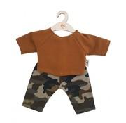 Hollie Poppenbroek en Shirt Camouflage Ochre