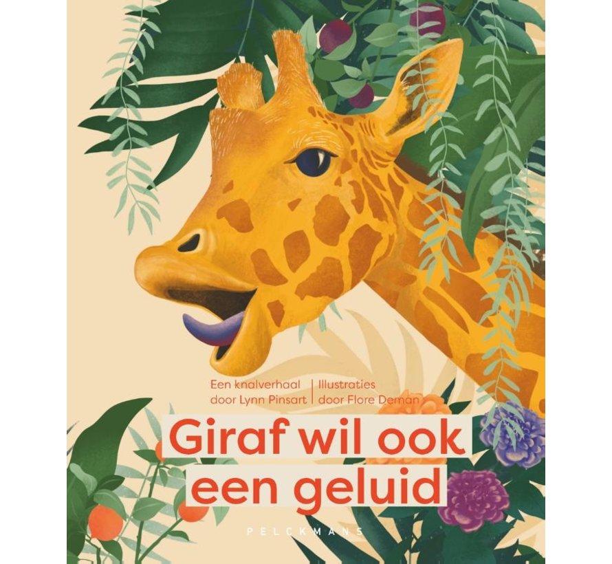 Giraf wil ook een geluid