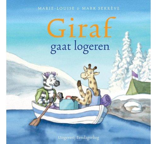 Uitgeverij Eendagsvlieg Giraf gaat logeren