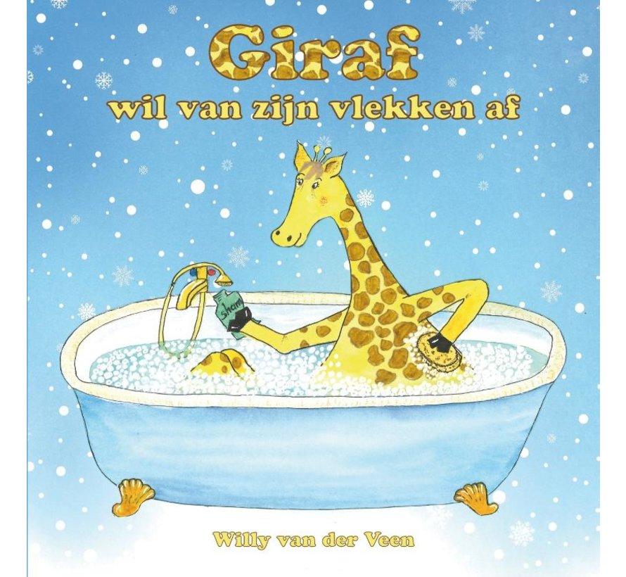 Giraf wil van zijn vlekken af