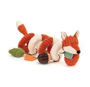 Jellycat Cordy Roy Baby Fox Spiral Activity Toy