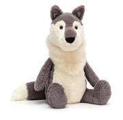 Jellycat Knuffel Woodruff Wolf