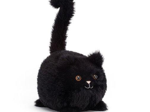 Jellycat Knuffel Kat Kitten Caboodle Black