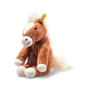 Steiff Knuffel Paard Soft Cuddly Friends Gola Zittend