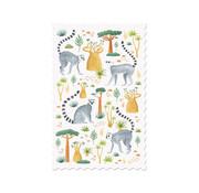 Londji Postcard - Lemurs